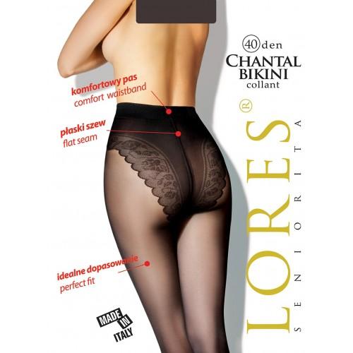 Колготки Lores Chantal Bikini 40 den